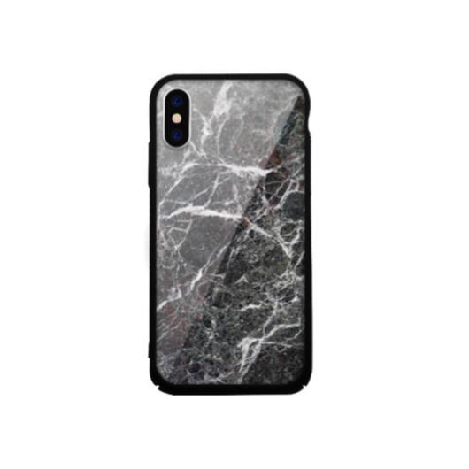 Tempered Glass tok fekete (Rock) Apple Iphone Xs Max készülékhez