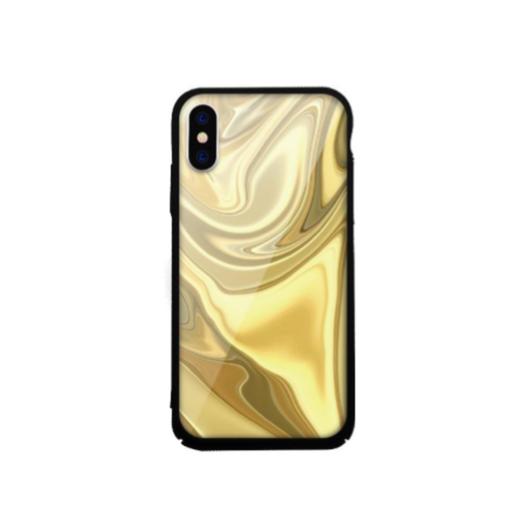 Tempered Glass tok arany (Rock) Apple Iphone Xs Max készülékhez