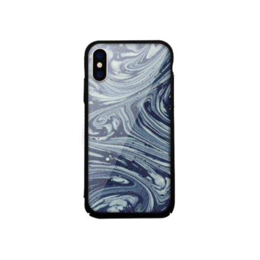 Tempered Glass tok kék (Rock) Apple Iphone X/Xs készülékhez