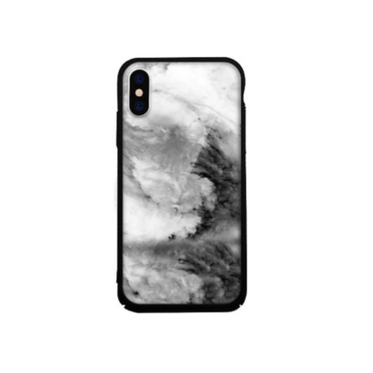 Tempered Glass tok szürke (Rock) Apple Iphone X/Xs készülékhez