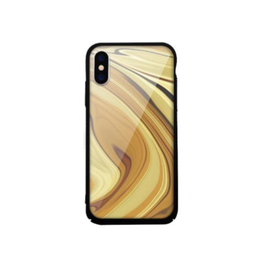 Tempered Glass tok arany (Stone) Apple Iphone Xs Max készülékhez
