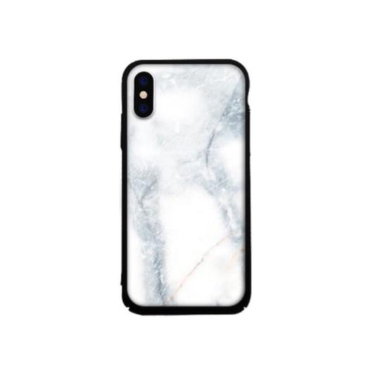 Tempered Glass tok lila (Stone) Apple Iphone X/Xs készülékhez