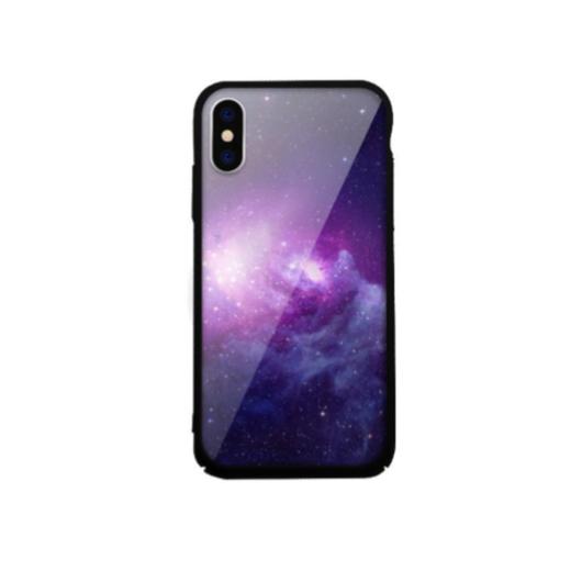 Tempered Glass tok fekete (Galaxy) Apple Iphone Xs Max készülékhez