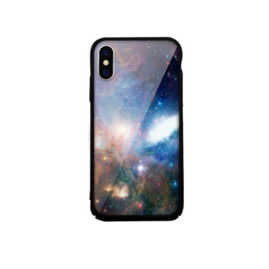 Tempered Glass tok kék (Universe) Apple Iphone 7Plus/8Plus készülékhez