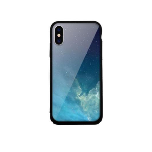 Tempered Glass tok kék (Sky) Apple Iphone Xs Max készülékhez