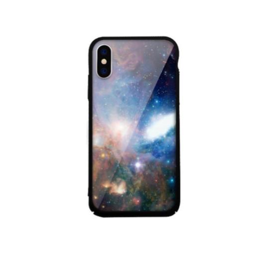Tempered Glass tok kék (Universe) Apple Iphone Xs Max készülékhez