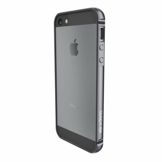 X-Doria Bump Gear Plus védőkeret Apple iPhone 5S/SE (2016) készülékhez. Asztroszürke