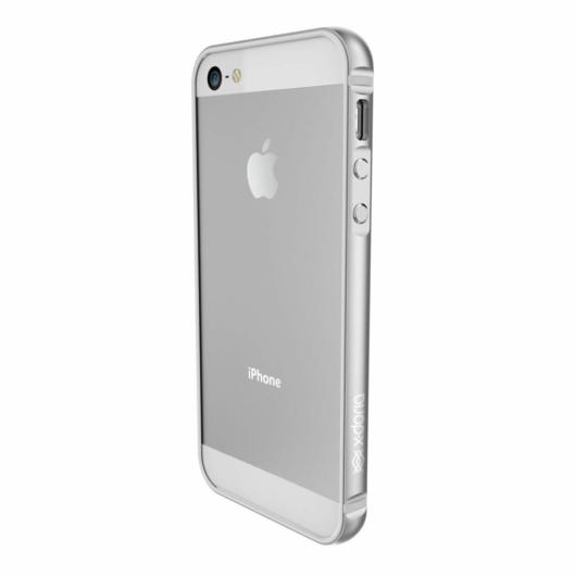 X-Doria Bump Gear Plus védőkeret Apple iPhone 5S/SE (2016) készülékhez. Ezüst