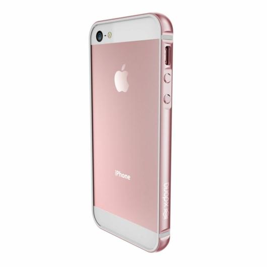 X-Doria Bump Gear Plus védőkeret Apple iPhone 5S/SE (2016) készülékhez. Rozéarany