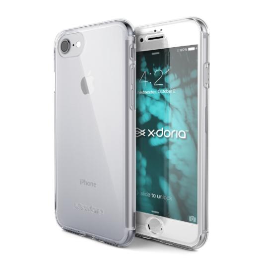 X-Doria Defense 360 Glass védőtok Apple iPhone 7/8/SE (2020) készülékhez. Színtelen