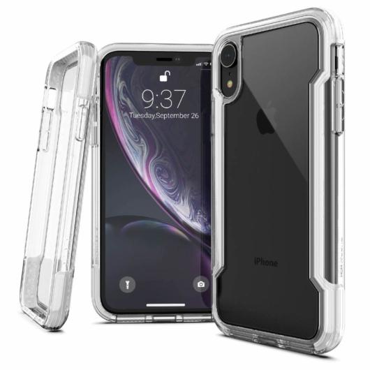 X-Doria Defense Clear védőtok Apple iPhone XR készülékhez. Átlátszó