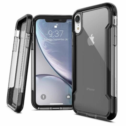 X-Doria Defense Clear védőtok Apple iPhone XR készülékhez. Black
