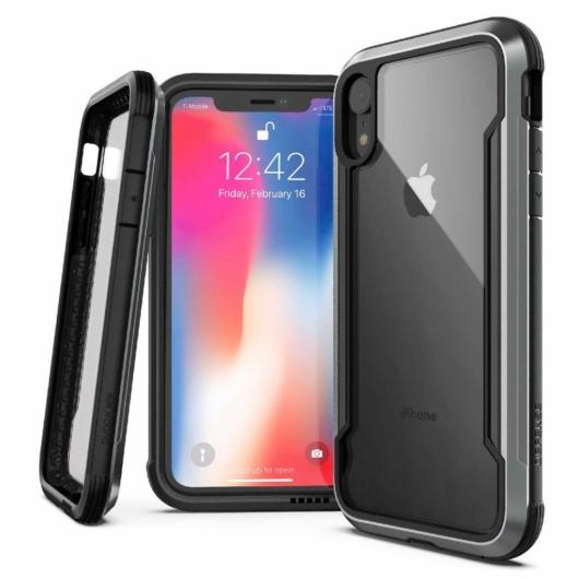 X-Doria Defense Shield védőtok Apple iPhone XR készülékhez. Black