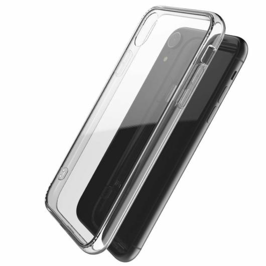 X-Doria Glass Plus védőtok Apple iPhone XR készülékhez. Átlátszó