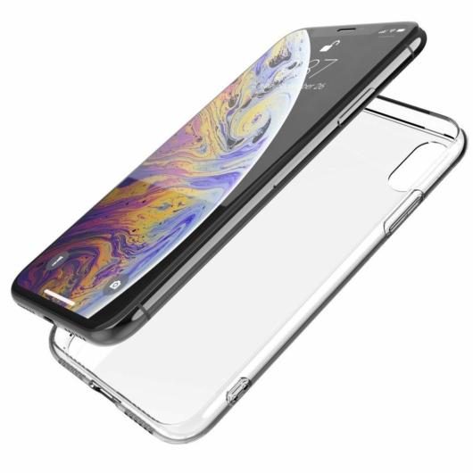 X-Doria Glass Plus védőtok Apple iPhone X/XS készülékhez. Átlátszó